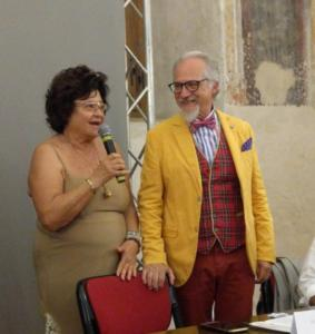 Patrizia Pacini e Giuseppe Carta