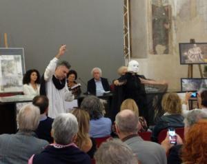 """Performance alla presentazione """"Nel segno di Michelangelo"""""""
