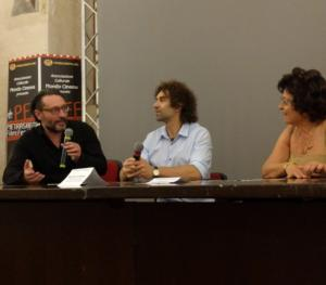 Francesco Colangelo, Andrea Moneta e Patrizia Pacini