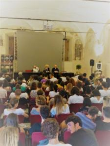 """La presentazione del libro """"Nel segno di Michelangelo"""""""