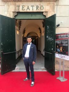 Matteo sul red carpet